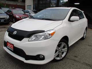 Used 2012 Toyota Matrix S-SPORT-SUNROOF-ALLOYS-SKIRT-PKG-SPOILER for sale in Scarborough, ON