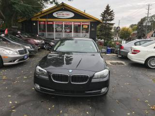 Used 2011 BMW 5 Series 535i ONE OWNER AUTO CERTIFIED for sale in York, ON