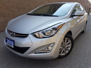 Used 2016 Hyundai Elantra Deal Pending for sale in Mississauga, ON