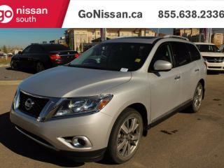 Used 2014 Nissan Pathfinder PLATINUM - NAVIGATION, DVD, DUAL SUNROOF for sale in Edmonton, AB
