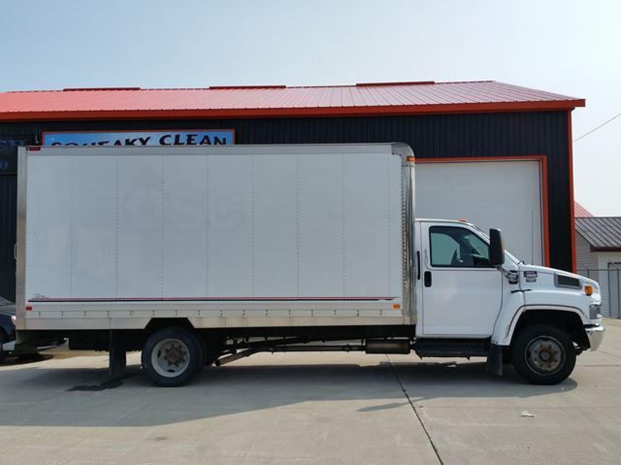 2005 GMC C5500 Cube Truck Diesel