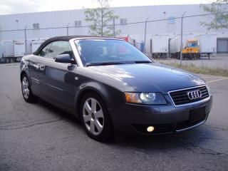 Used 2003 Audi A4 1.8T CONVERTIBLE-LOADED,ZERO ACCIDENTS,BOSE for sale in North York, ON