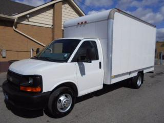 Used 2009 Chevrolet Express 3500 Cube Van 14Ft Box Loaded ONLY 62,000KMs for sale in Etobicoke, ON