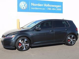 Used 2015 Volkswagen Golf GTI 5-Door Autobahn 4dr Hatchback for sale in Edmonton, AB