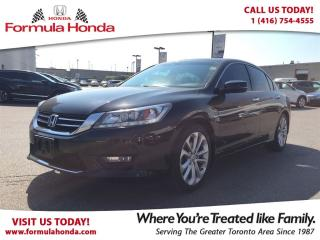 Used 2014 Honda Accord Sedan TOURING | TOP OF THE LINE | NAVIGATION for sale in Scarborough, ON