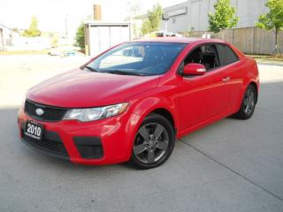 Used 2010 Kia Forte Koup, 2 door, Air, 6 Speed, Excellent Running, 3/Y for sale in North York, ON