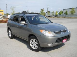 Used 2008 Hyundai Veracruz 7passanger, Sunroof, 3/Y warranty available for sale in North York, ON