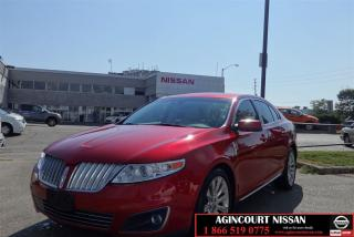 Used 2010 Lincoln MKS GTDI |Navi|Pan Roof| Camera|Leather| for sale in Scarborough, ON
