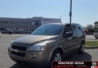 Used 2006 Chevrolet Uplander LS |AS-IS SUPERSAVER| for sale in Scarborough, ON
