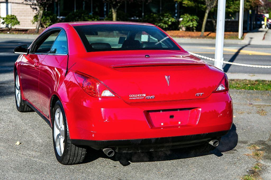 used 2007 pontiac g6 gt retractable hardtop convertible very rare for sale in surrey british. Black Bedroom Furniture Sets. Home Design Ideas