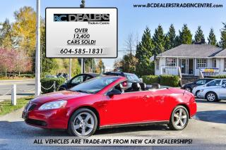 Used 2007 Pontiac G6 GT Retractable Hardtop Convertible, Very Rare! for sale in Surrey, BC