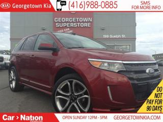 Used 2014 Ford Edge SPORT | NAVI | PANO ROOF | AWD | 22 RIMS | for sale in Georgetown, ON