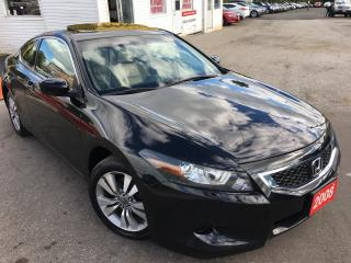 Used 2008 Honda Accord EX-L/AUTO/LEATHER/SUNROOF/ALLOYS/LIKE NEW for sale in Scarborough, ON