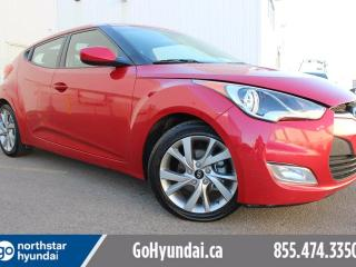 Used 2016 Hyundai Veloster AUTO 3DR/BLUETOOTH/AC for sale in Edmonton, AB