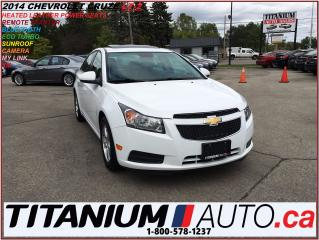 Used 2014 Chevrolet Cruze 2-LT+Camera+Sunroof+Heated Leather Power Seats+R.S for sale in London, ON