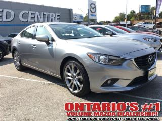 Used 2014 Mazda MAZDA6 GT TECH PKG. LEATHER, SUNROOF, NAVIGATION-TORONTO for sale in North York, ON