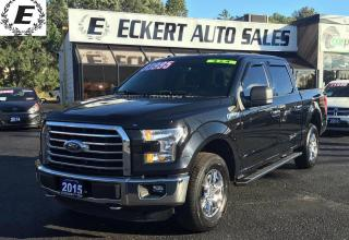 Used 2015 Ford F-150 XTR  4X4 5.0L WITH REVERSE CAMERA for sale in Barrie, ON