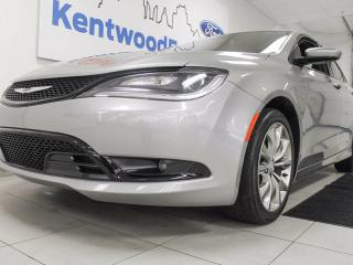 Used 2016 Chrysler 200 200S AWD with push start/stop and beautiful heated seats! for sale in Edmonton, AB
