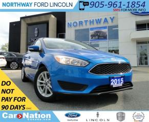 Used 2015 Ford Focus SE | REAR CAM | BLUETOOTH | LOW KM | for sale in Brantford, ON