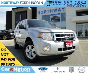 Used 2010 Ford Escape XLT Automatic 3.0L | V-6 | BLUETOOTH | for sale in Brantford, ON