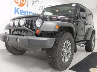 Used 2013 Jeep Wrangler Rubicon 6-SPD manual, crisp and clean and ready for shreddin' for sale in Edmonton, AB