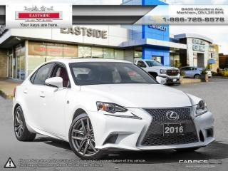 Used 2016 Lexus IS300 F-Sport AWD F-Sport AWD for sale in Markham, ON