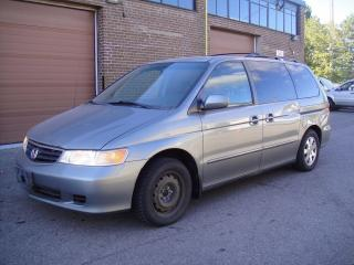 Used 2002 Honda Odyssey EX-L MODEL-POWER DOORS,HEATED LEATHER,NO ACCIDENTS for sale in North York, ON