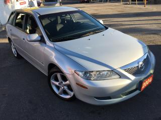 Used 2004 Mazda MAZDA6 S/LOADED/ALLOYS/WAGON/DRIVES LIKE NEW/LOW KM for sale in Scarborough, ON