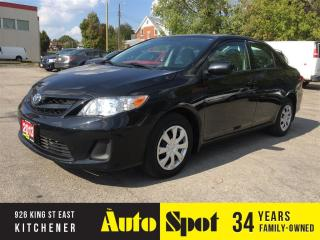 Used 2013 Toyota Corolla CE/LOW, LOW KMS/PRICED FOR A QUICK SALE! for sale in Kitchener, ON