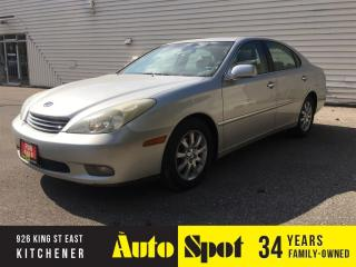 Used 2003 Lexus ES 300 w/Luxury Pkg for sale in Kitchener, ON