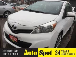 Used 2012 Toyota Yaris LE/NICE CAR!/PRICED FOR A QUICK SALE! for sale in Kitchener, ON