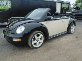 Used 2003 Volkswagen Beetle Cabriolet Sport for sale in Yarker, ON