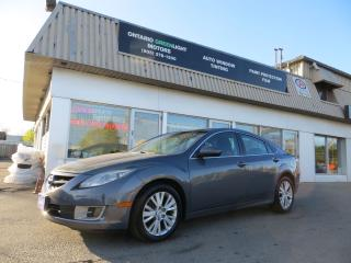 Used 2009 Mazda MAZDA6 LOADED,SUNROOF,ALLOYS SUPER CLEAN for sale in Mississauga, ON