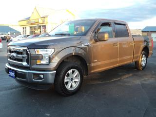 Used 2015 Ford F-150 XLT Supercrew 2.7L EcoBoost 6ft Box for sale in Brantford, ON