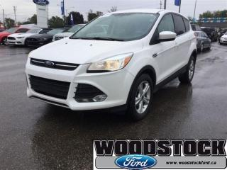 Used 2014 Ford Escape SE CPO, 1.99 OAC, White Platinium for sale in Woodstock, ON