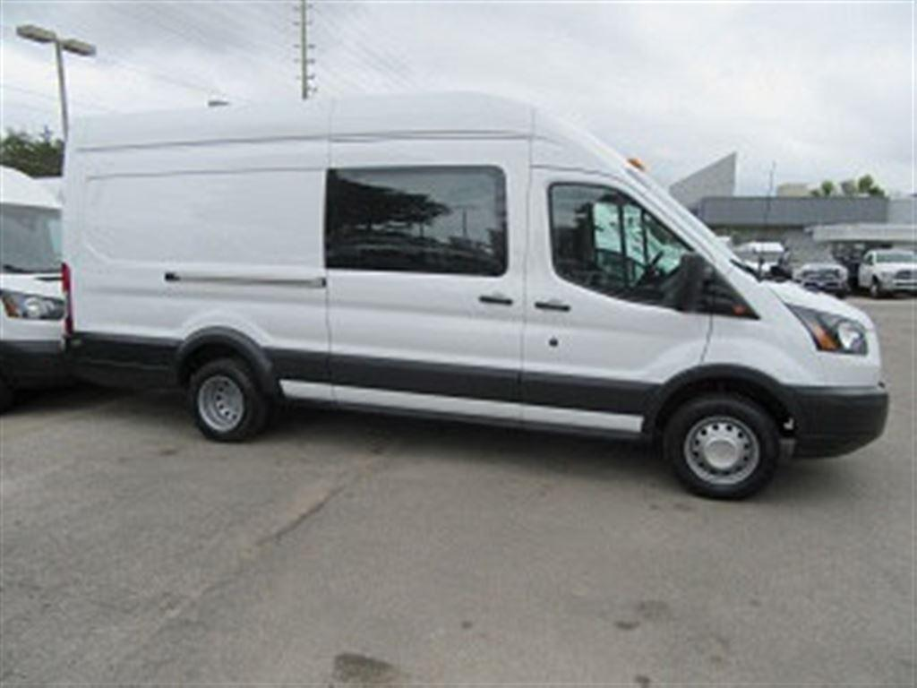 67a6a5208a Used 2017 Ford Transit 3500 Dually Gas high roof super extended cargo van  for Sale in Richmond Hill