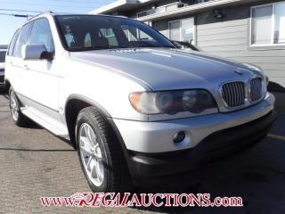 Used 2003 BMW X5  4D UTILITY 4.4I for sale in Calgary, AB