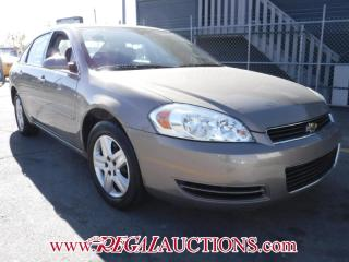 Used 2007 Chevrolet IMPALA LS 4D SEDAN for sale in Calgary, AB
