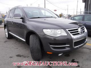Used 2008 Volkswagen TOUAREG  4D UTILITY V8 for sale in Calgary, AB