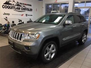 Used 2013 Jeep Grand Cherokee Overland for sale in Coquitlam, BC