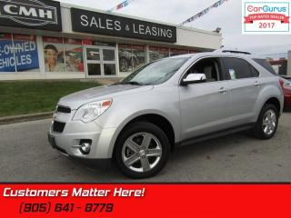 Used 2014 Chevrolet Equinox LTZ  - Leather Seats for sale in St Catharines, ON