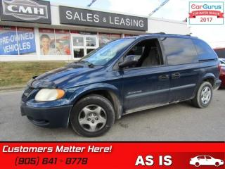 Used 2001 Dodge Grand Caravan SE  POWER GROUP (AS IS - UNCERTIFIED AS TRADED IN) for sale in St Catharines, ON