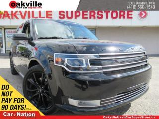 Used 2017 Ford Flex Limited | LEATHER | PANO ROOF | NAVI | B/U CAM for sale in Oakville, ON