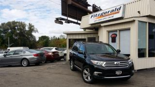 Used 2013 Toyota Highlander V6 - LEATHER! SUNROOF! BACK-UP CAM! for sale in Kitchener, ON
