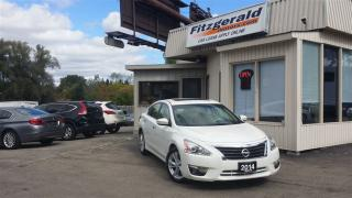 Used 2014 Nissan Altima 2.5 SL - TECH PKG! NAV! BACK-UP CAM! for sale in Kitchener, ON