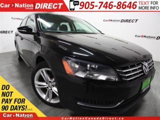 Used 2012 Volkswagen Passat 3.6L Highline| LOW KM'S| LEATHER| SUNROOF| for sale in Burlington, ON