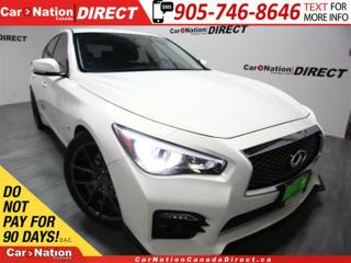 Used 2015 Infiniti Q50 Sport| AWD| UPGRADED WHEELS| NAVI| SUNROOF| for sale in Burlington, ON