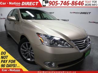 Used 2010 Lexus ES 350 | LOW KM'S| NAVI| SUNROOF| LEATHER| for sale in Burlington, ON