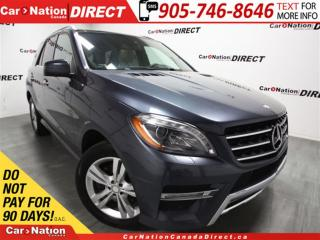 Used 2013 Mercedes-Benz ML-Class ML350 BlueTEC 4MATIC| PANO ROOF| NAVI| for sale in Burlington, ON