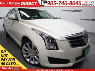 Used 2014 Cadillac ATS 3.6L Luxury| AWD| LOW KM'S| SUNROOF| NAVI| for sale in Burlington, ON